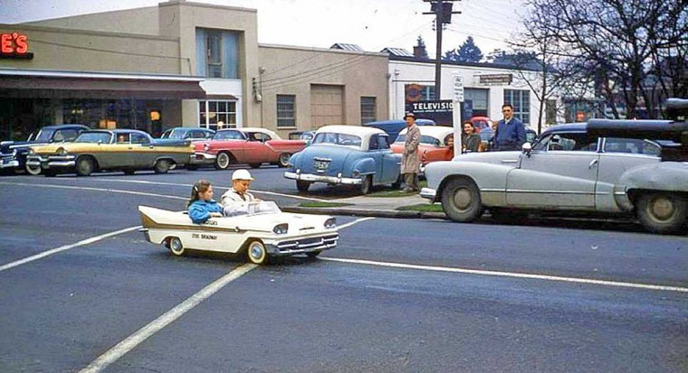 1950s Childrens Car