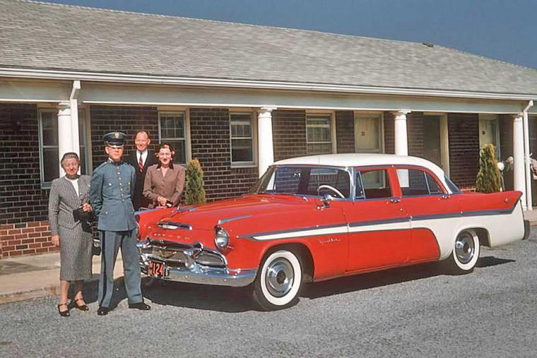 1950s Chrysler 4-door