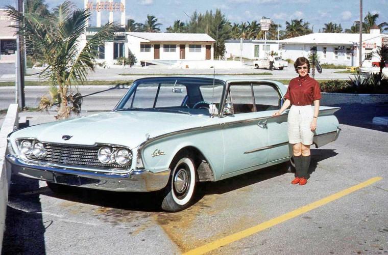 1960s Ford sedan