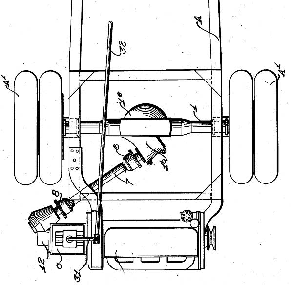 Angled rear drive patent 1