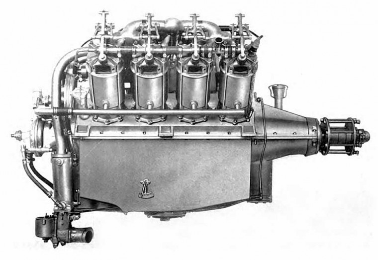 Curtis OX5 engine