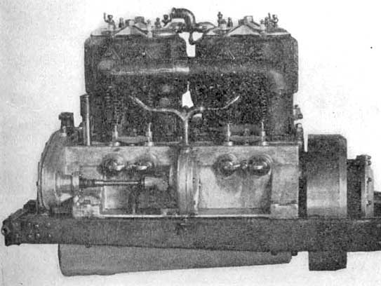 First Marmon water-cooled engine