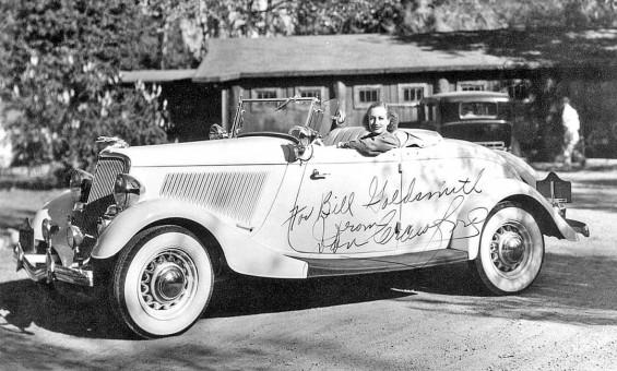 Joan Crawford 1934 Ford Roadster