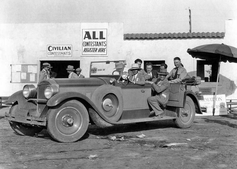 Late-1920s Packard 7-Pass. Touring Car