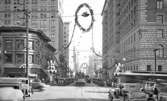 Los Angeles Christmas 1929