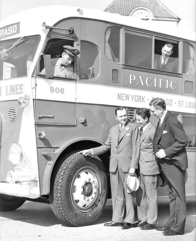 Pacific Greyhound Lines Night Coach 1
