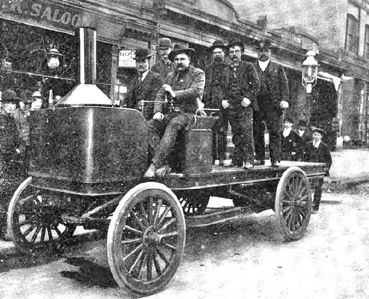 Saxton Steam Truck