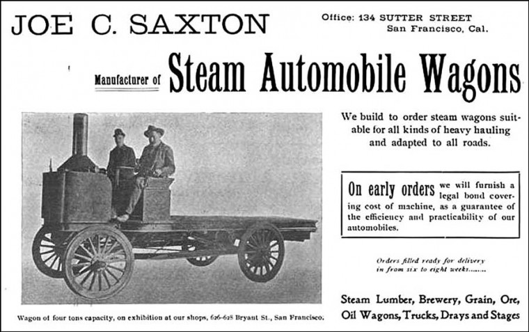 Saxton Steam Wagon