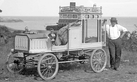 Steam Car Popcorn Wagon