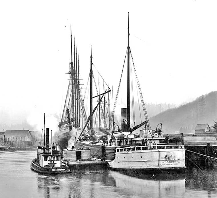 Steam Ship Newburg