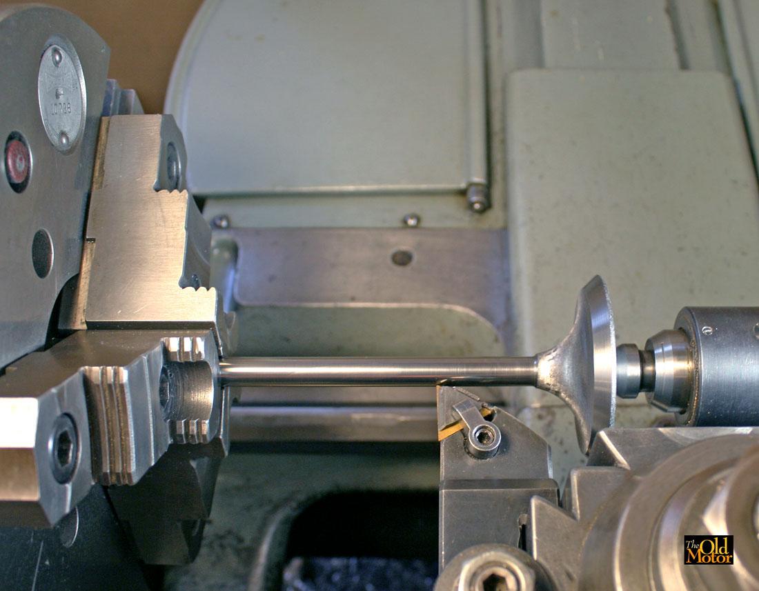 Restoration Of Original Vintage Engine Valves   The Old Motor