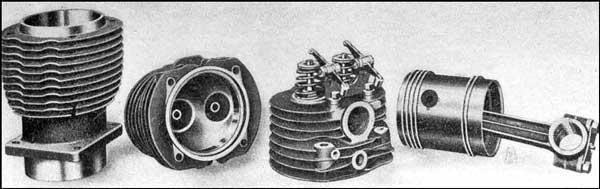V-4 Marmon Engine Parts