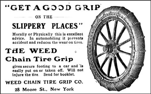 Snow Chains For Tires >> The Winter Road Beckons – Seven Vintage Snowy Road Scenes ...