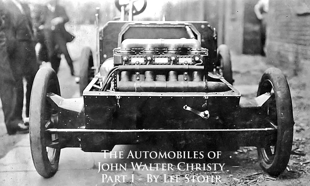 The Amazing Automobiles of John Walter Christie – Part I | The Old Motor