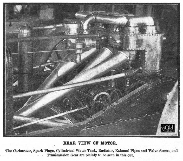 1905 Christie Engine and Transmission