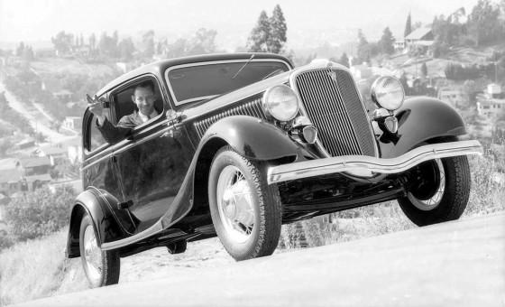 1934 Ford Hill Climb Test