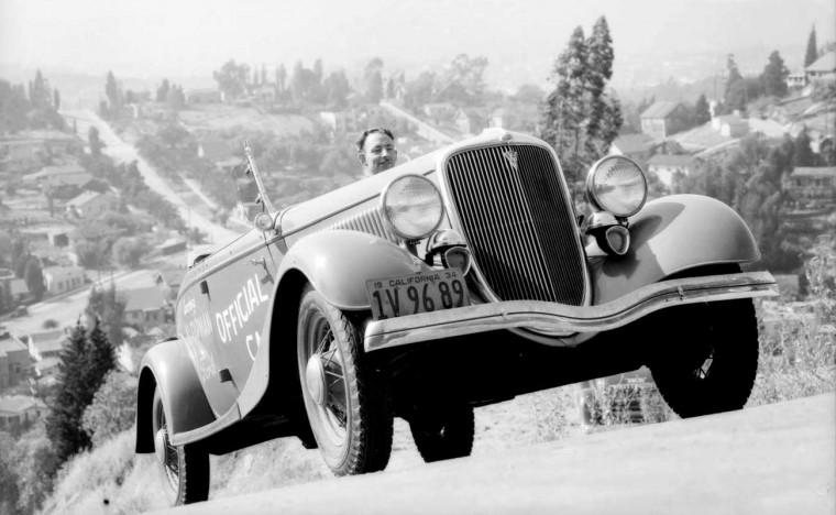 1934 Ford Roadster Hill Climb Test
