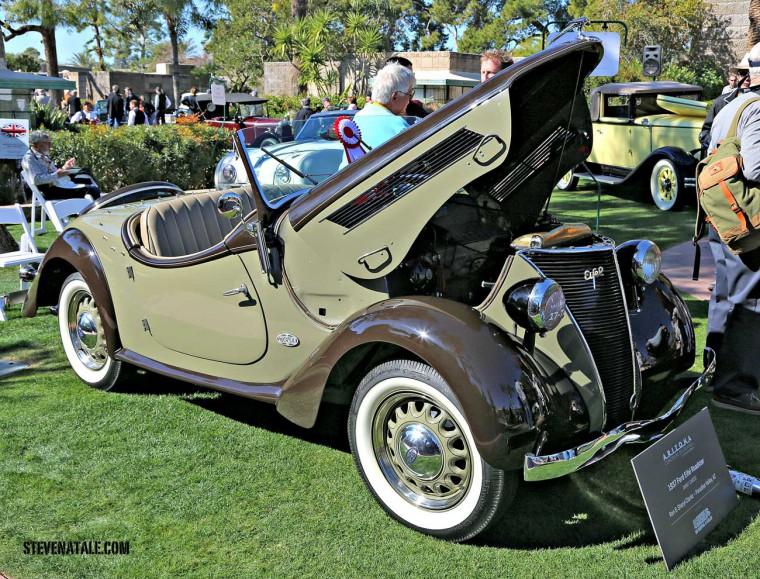 1937 Ford Eifel Roadster - Coachwork by Stoewer