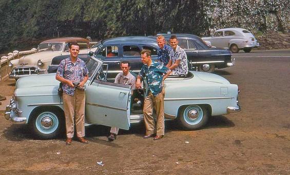 1950s Chevrolet Convertible