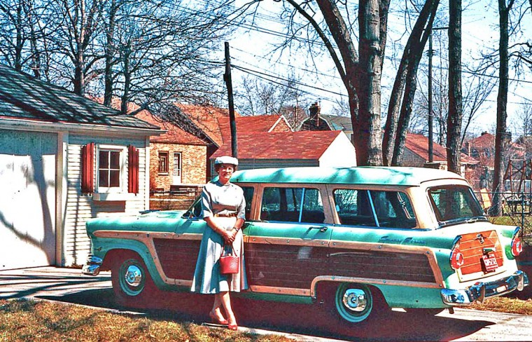 1950s Ford Station Wagon