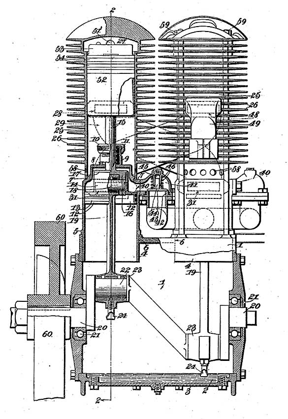 Frederickson 2-Cycle Engine 1914