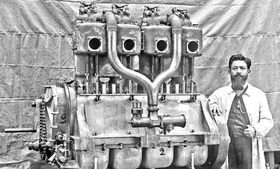 Large Brassier Engine 1911