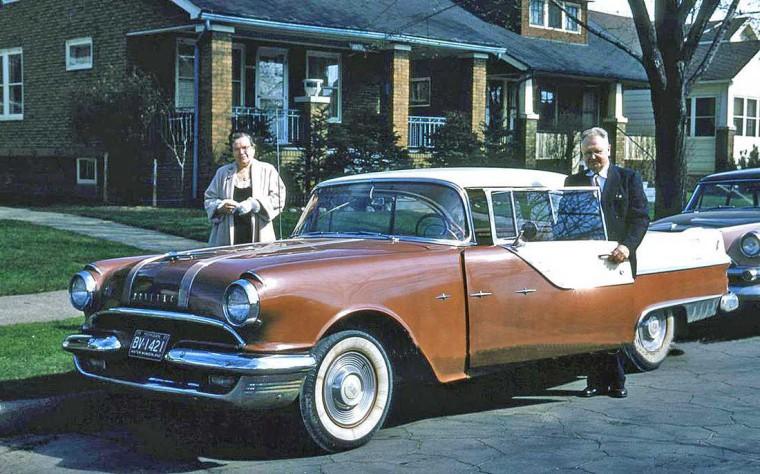 Late Fifties Pontiac Sedan