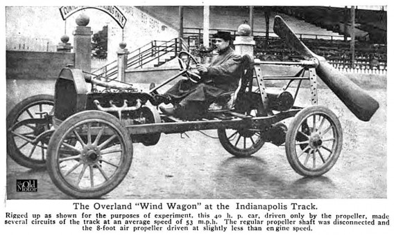 Overland Wind Wagon At Indianapolis Track