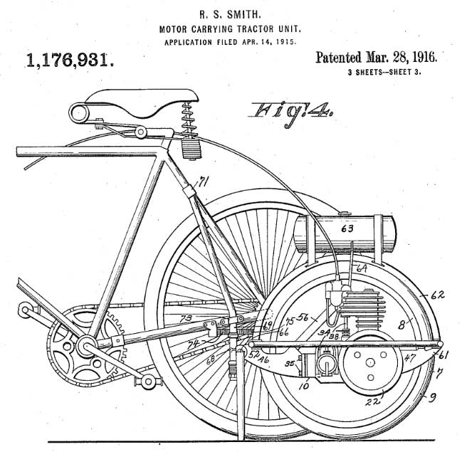 Smith Motor Wheel Patent 2