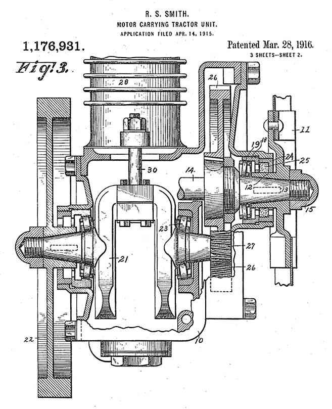 Smith Motor Wheel Patent 3