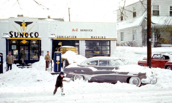 Sonoco Gas Station Columbus OH 1953