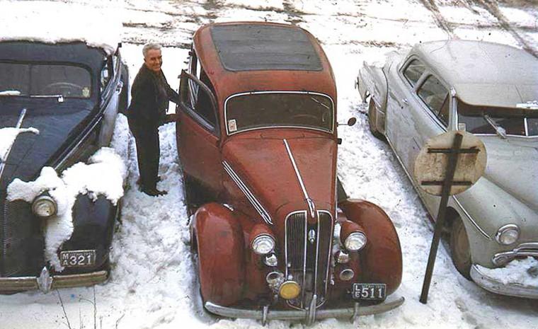 Thirties Plymouth Sedan