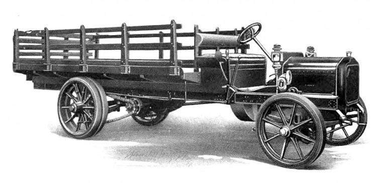 1911 White Three-Ton Truck