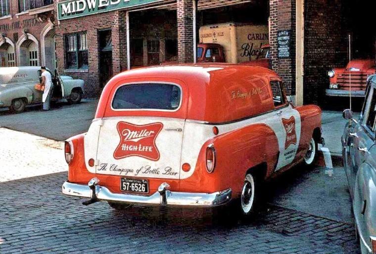 1950s Chevrolet Sedan Deliveries