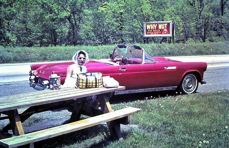 1950s Two Seat Thunderbird