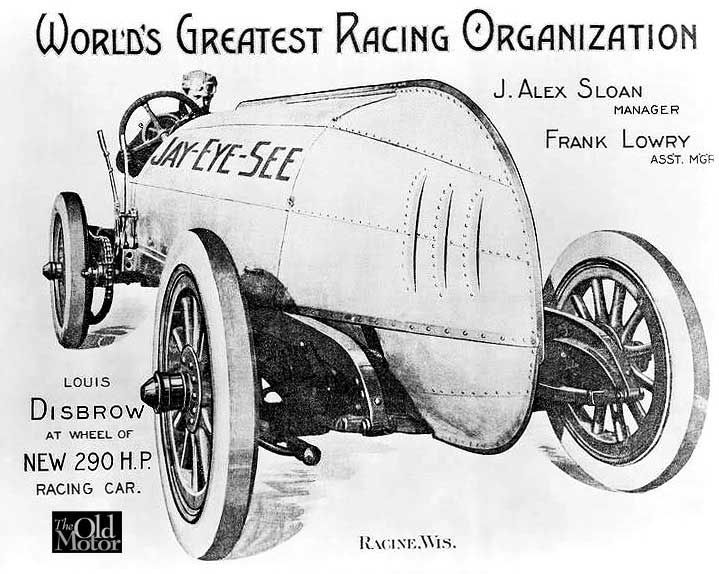 Alex Sloan Racing Circus - Louis Disprow - Case Jay-Eye-See Fiat Racer