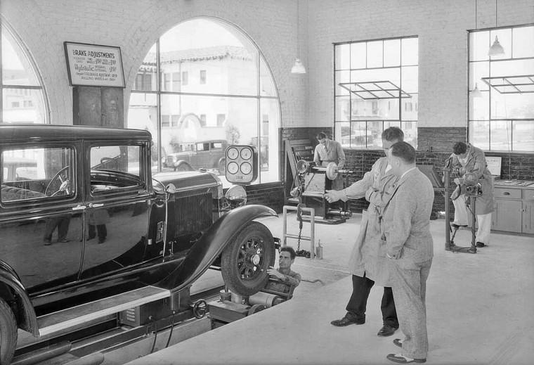 Brake Adjusting Machine 1931