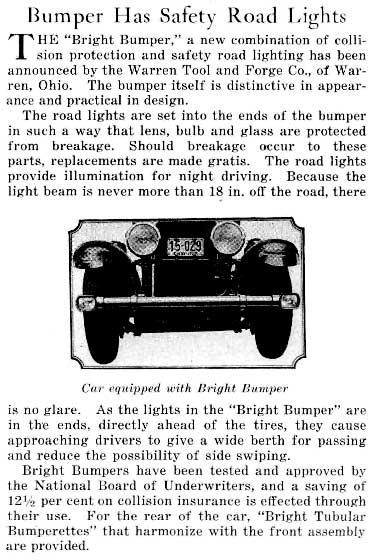 Bright Bumper Article