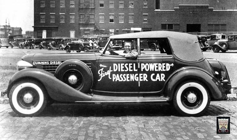 Clessie Cummin's Diesel Powered Cross Country 1935 Auburn