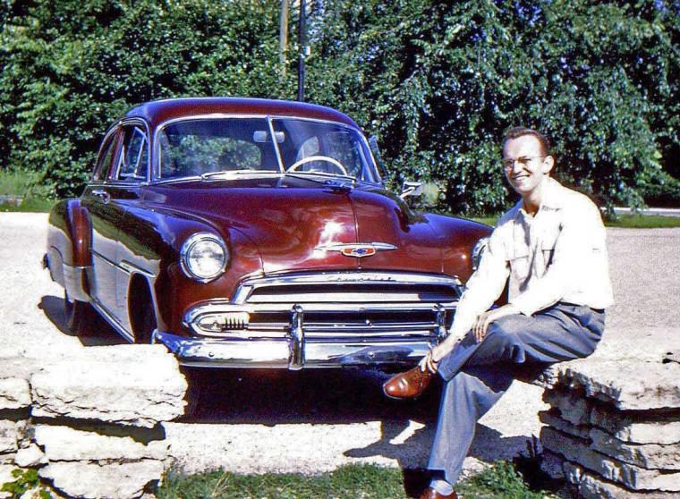 Early 1950s Chevrolet Sedan