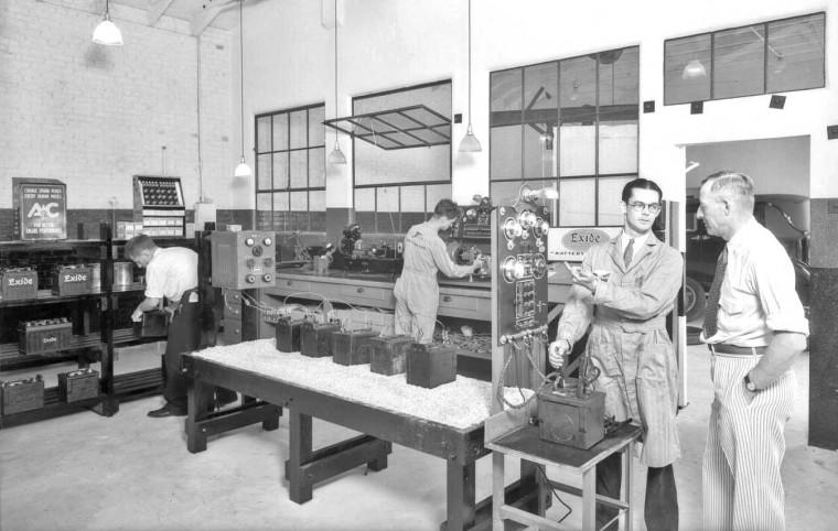 Exide Batteries 1931