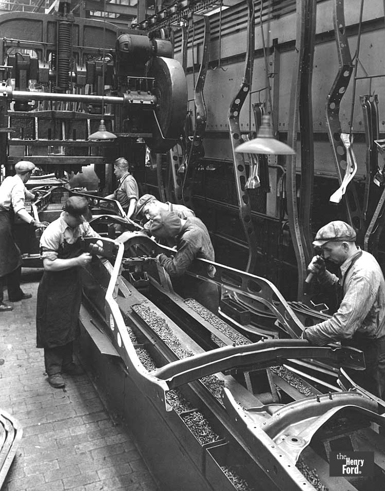 Ford Frame Assembly Line 1934