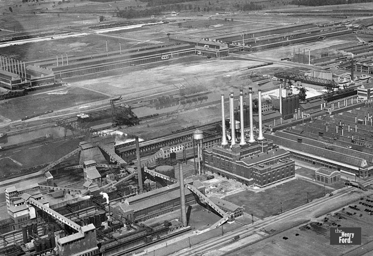 Ford River Rouge Plant July 1931