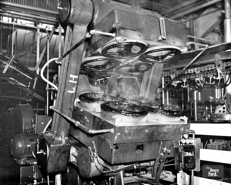 Ford Steering Wheel Molding Machine 1934
