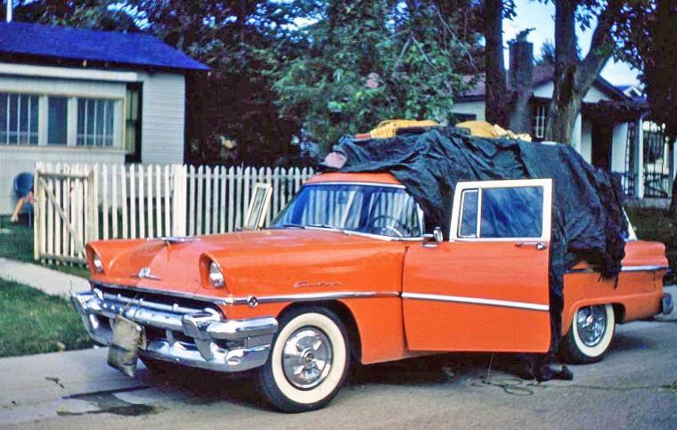 Late 1950s Mercury Station Wagon