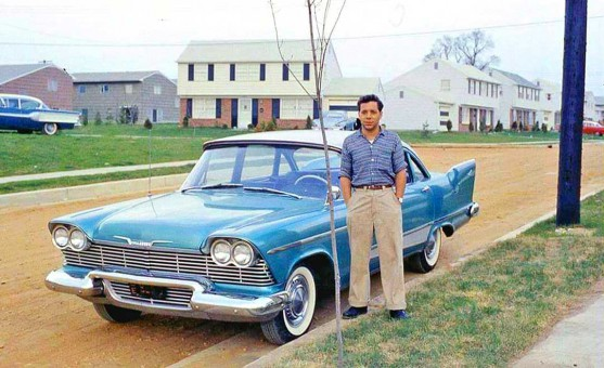 Late 1950s Plymouth Sedan