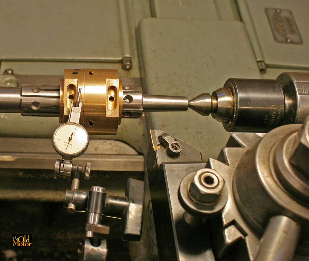 Simplex Connecting Rod Rebuilding and New Camshaft Bearings
