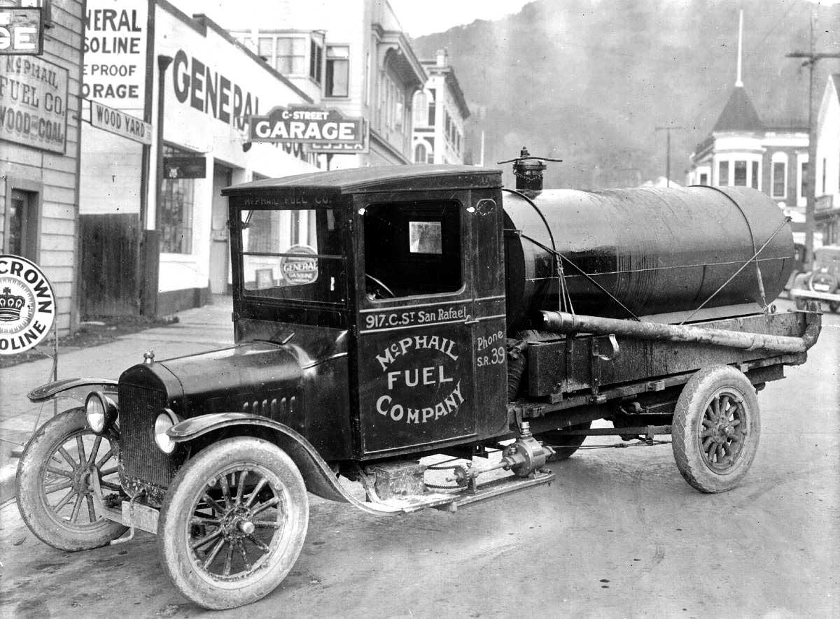 A Unique Model Tt Ford Fuel Tanker Truck The Old Motor
