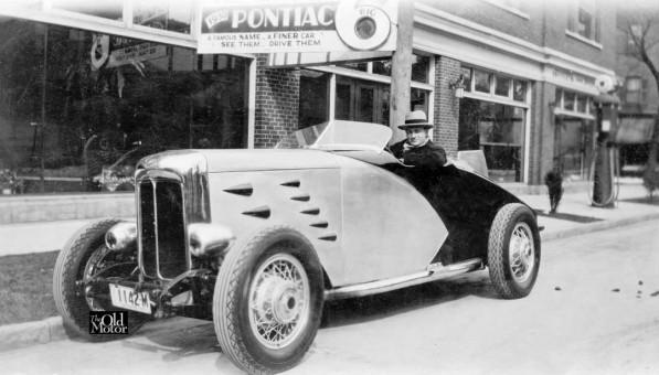 Mystery Pontiac Circa 1930 Speedster
