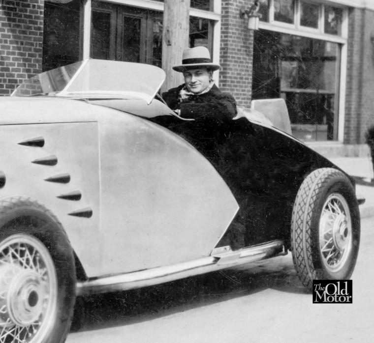 Rear of Circa 1930 Mystery Pontiac Speedster
